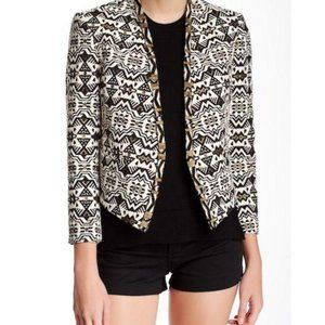 FAB Embroidered Beaded Blazer